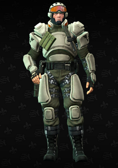 STAG soldier - STAG - character model in Saints Row The Third