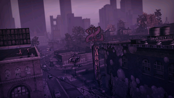 Saints Row The Third loading screen 10 - Zimos' Pad