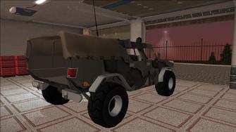 Saints Row variants - Bulldog - Military - rear right