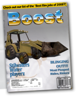 Backhoe - Chop Shop magazine