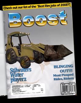 Backhoe - Chop Shop magazine