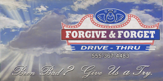 Forgive and Forget - new billboard