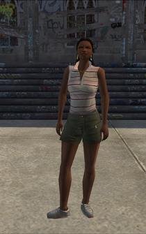 Generic black female - bk1 - character model in Saints Row
