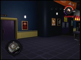 Max Visions interior area in Saints Row