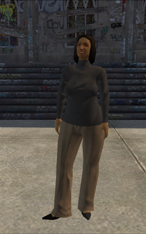 MiddleAge female 02 - BarrioGunStore - character model in Saints Row