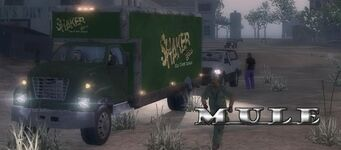 Mule - front left with logo and lights in Saints Row 2
