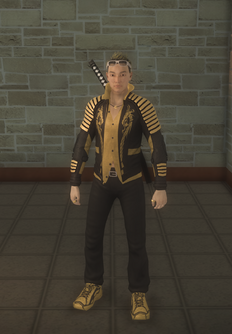 Shogo - character model in Saints Row 2