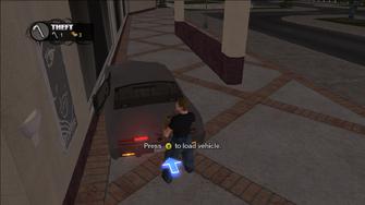 Theft - load vehicle