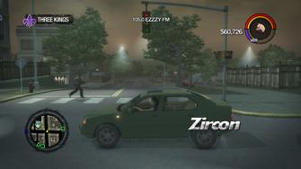 Zircon - left in Saints Row 2
