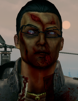 Zombie Gat face closeup