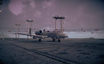 AB Destroyer - front right on runway in Saints Row IV