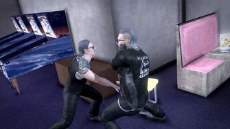 Brawling Fighting Style - Backhand Slap before