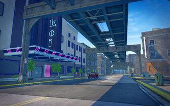 Club Koi - street entrance