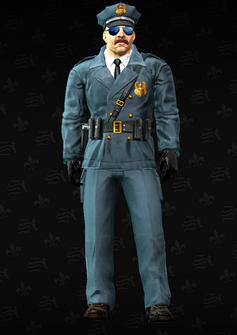 Cop - Jones - character model in Saints Row The Third