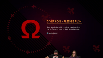 Gat out of Hell Gamespot livestream - Diversion - Pledge Rush unlocked