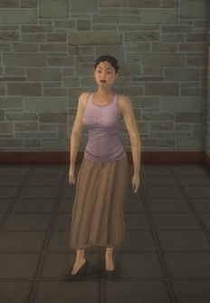 Middle-aged female gen - asian - character model in Saints Row 2