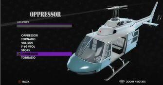 Oppressor - Angel variant in Heliport