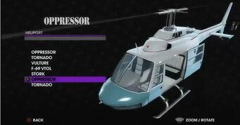 Oppressor - Angel variant in Heliport
