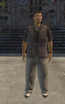 Paparrazi - asian - character model in Saints Row