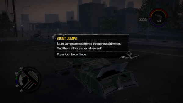 Stunt Jumps tutorial in Saints Row 2