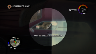 Ultor Family Fun Day - Eric in Justice through sniper rifle