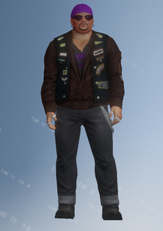 Gang Customization - Biker 1 - Dusty - in Saints Row IV