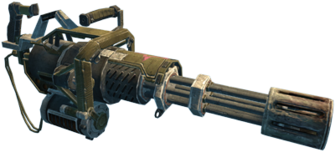 Mini-Gun in Saints Row The Third