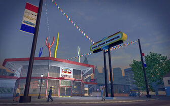 Misty Lane in Saints Row 2 - Foreign Power