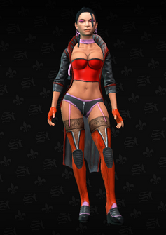 Morningstar Soldier 8 - Liilian - character model in Saints Row The Third