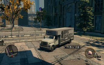 Mule - front left with logo in Saints Row The Third