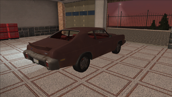 Saints Row variants - Bootlegger - Beater - rear right