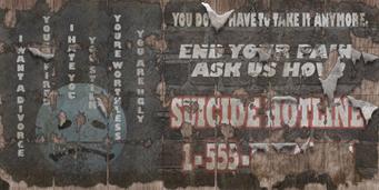 Suicide Hotline 116 billboard2 cb