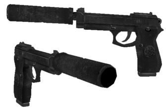 VICE 9 - Ronin Silenced cutscene version - Saints Row 2 model