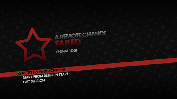 A Remote Chance failed - Signal Lost