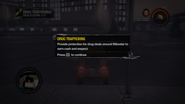 Drug Trafficking tutorial in Saints Row 2