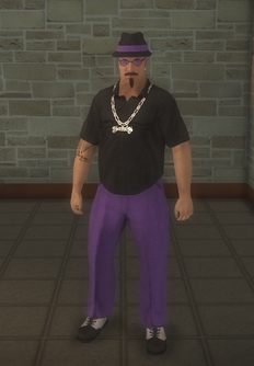 Gang Customization - Gangster - male lieutenant - hispanic