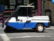 SFPD parking enforcement vehicle side