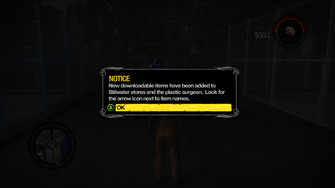Saints Row 2 DLC - new downloadable items notice