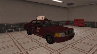Saints Row variants - Taxi - TNA - front right