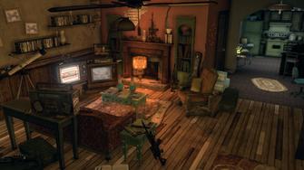 Shaundi's Loft - living room from far wall