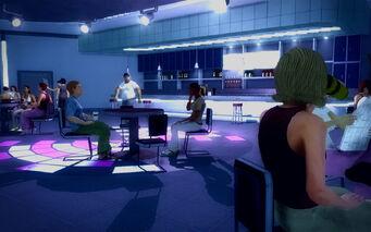 Club Koi - bar seating