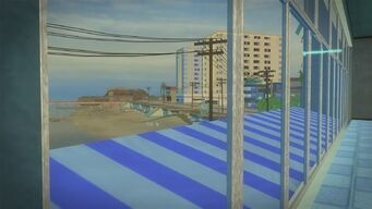 Developer offices - view of beach outside the north window