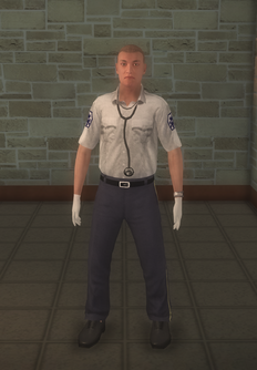 EMT - white male - character model in Saints Row 2