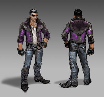 Johnny Gat Concept Art - Gat out of Hell - light jacket