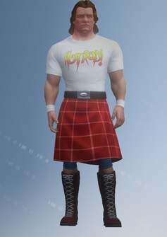 Roddy Piper - character model in Saints Row IV