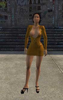 SkinnyHo - white ho - character model in Saints Row