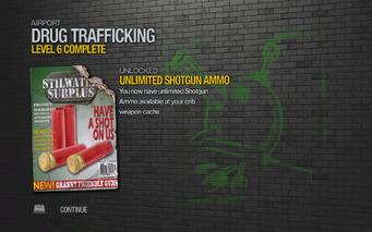 Unlimited Shotgun Ammo unlocked SR2