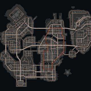 Karte von der Virtuell Steelport