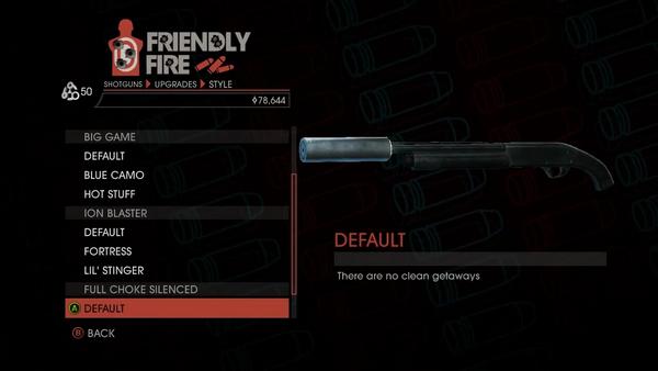 Weapon - Shotguns - Semi-Auto Shotgun - Full Choke Silenced - Default