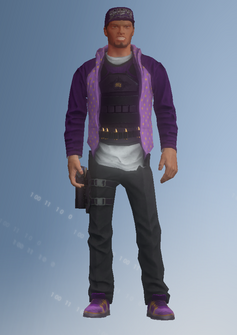 Zombie 07 - Taylor - character model in Saints Row IV